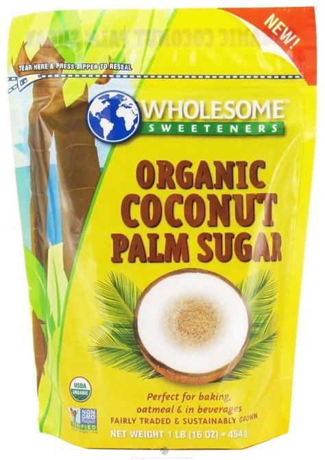 organic coconut sugar for water kefir and culture starters