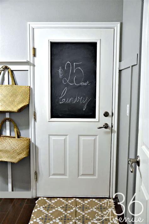 Decor Doors - diy no paint chalkboard door the 36th avenue