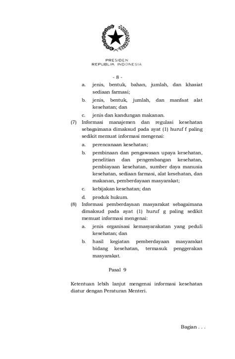 Pp 46 th 2014 sistem informasi kesehatan