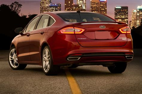 Ford Fusion Horsepower by 2014 Ford Fusion Gets Rear Seatbelt Airbags