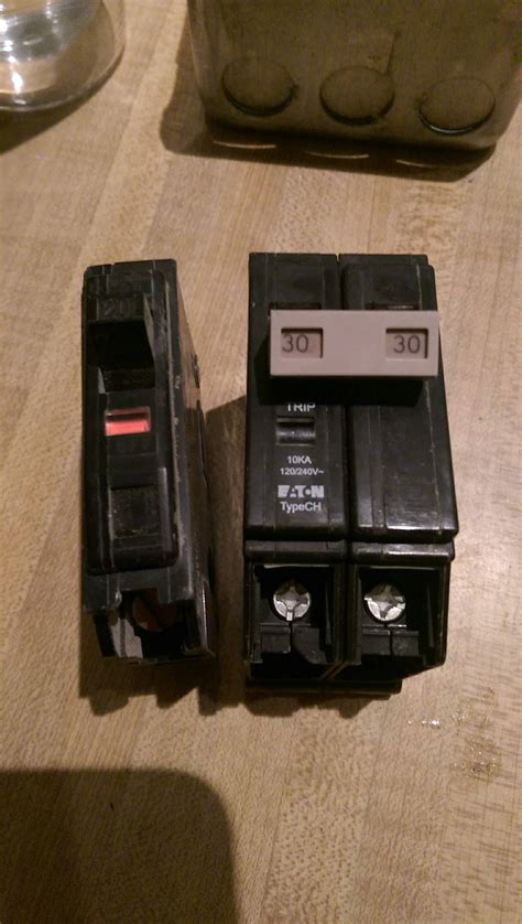 Electrical Identify Type Circuit Breaker Home
