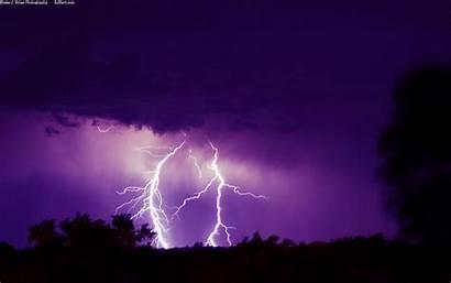 Lightning Desktop Wallpapers Nature Background Purple Backgrounds