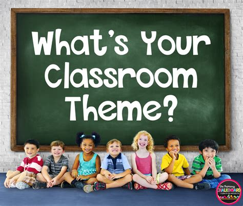primary chalkboard classroom decor  themes