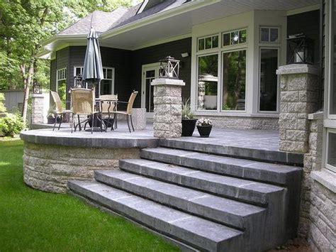 17 best ideas about raised patio on retaining
