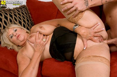 Archive Of Old Women Blonde Of A Retirement Age Loves