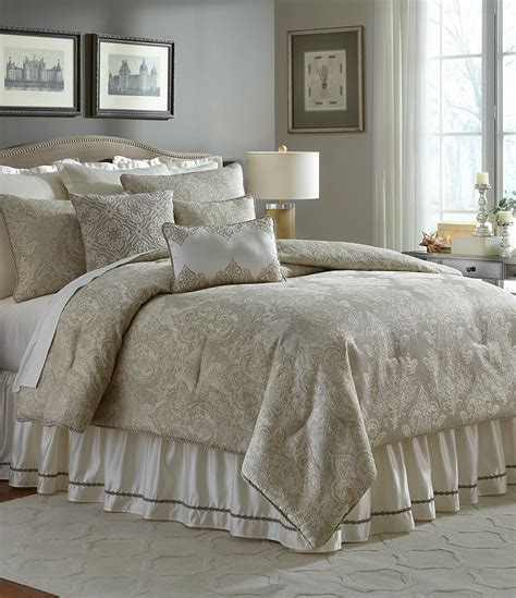 veratex valenti medallion jacquard comforter set dillards