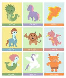 Cute Baby Mythical Creatures