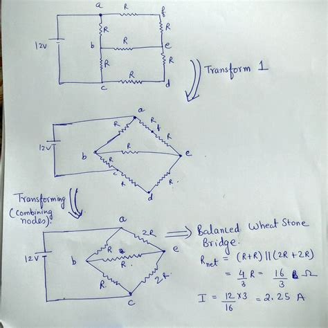 Series Parallel Circuit Problem Electrical