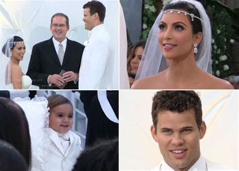 Kim Kardashian And Kris Humphries Get Married In Front Of