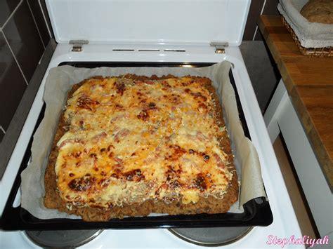 pizza avec p 226 te 224 rassis recette
