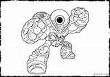 Coloring Pages Eye Skylanders Printable Miniforce Spy Brawl Animal Ignitor Eyeball Hoot Loop Fizz Pop London Getcolorings Eyed Giants Colouring sketch template