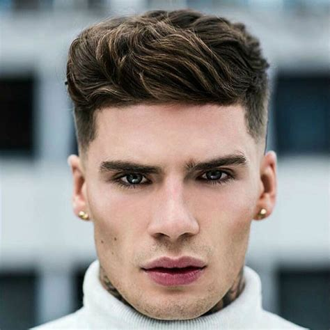 hairstyle  square face man lovely  men  haircuts