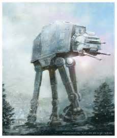 Star Wars AT-AT Art