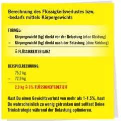 Trinkmenge Berechnen Formel : fl ssigkeitszufuhr im ausdauersport neue erkenntnisse ~ Themetempest.com Abrechnung