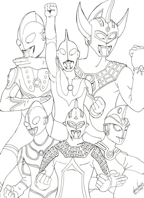 Coloring Ultraman Pictures by Http Colorings Co Coloring Pages For Boys Ultraman