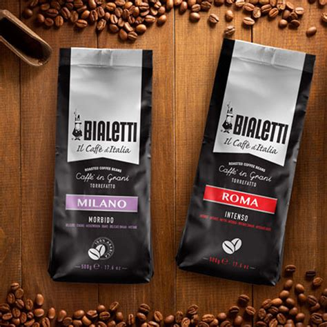A large selection of coffee beans including specialty coffee and famous brands of italian coffee beans such as café illy, lavazza, vergnano, pellini, etc. Bialetti Milano Coffee Beans 500 G - SuperStore