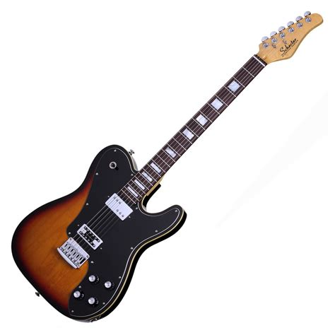 Guitar Schecter schecter pt fastback electric guitar 3 tone sunburst at
