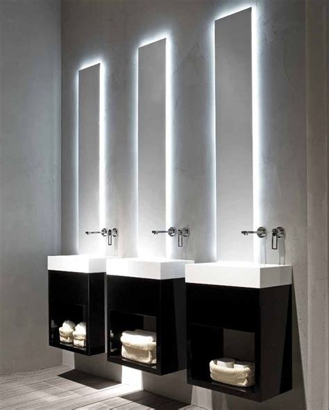 Modern Minimalist Bathroom Lighting by Black And White Modern Minimalist Bathroom Lavamani