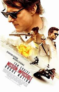 Mission Impossible 5: Rogue Nation Nuovo Poster corale ...