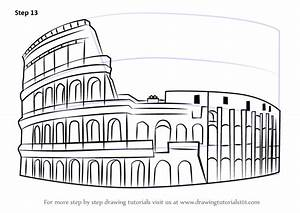 Images Of Easy Colosseum Drawing Golfclub