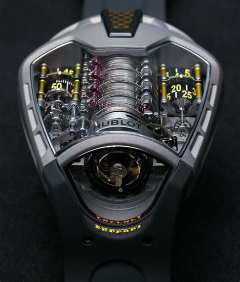 Hublot big bang ferrari 401.mx.0123.vr 18k magic gold auto. Hublot MP-05 LaFerrari Ferrari Titanium Yellow Watch Hands-On | aBlogtoWatch