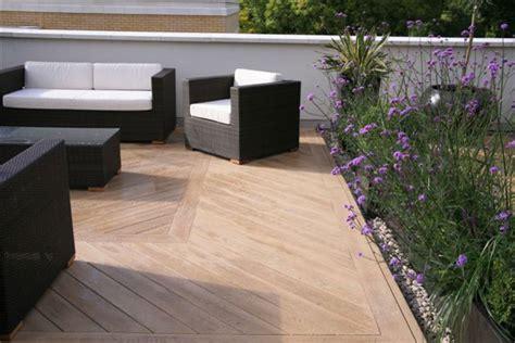 roof garden berkshire uk contemporary patio