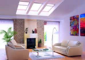 livingroom decor living rooms with skylights