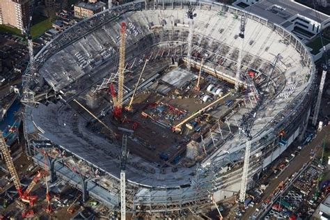 New White Hart Lane stadium faces race to be ready for ...