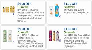 Free Printable Coupon Template Suave Coupons Save On Suave Kids Professionals And