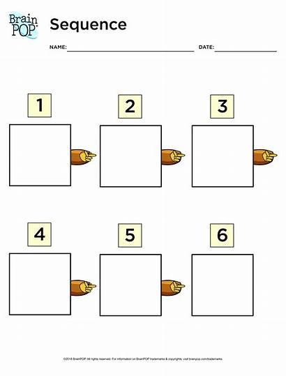 Organizer Sequence Graphic Brainpop Chart Educators Printable