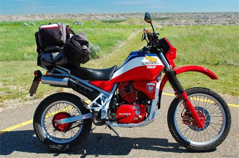 The Honda Xlv750r Is A Dual-sport Motorcycle Manufactured