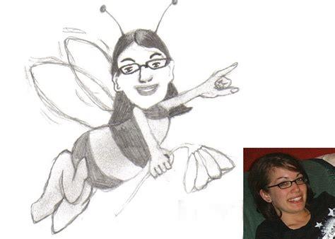 biene maja bleistiftzeichnung comic zeichnungen biene