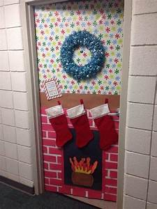 Cool, Christmas, Door, Decorations