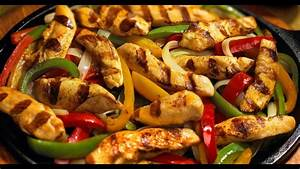 fajitas de pollo - YouTube