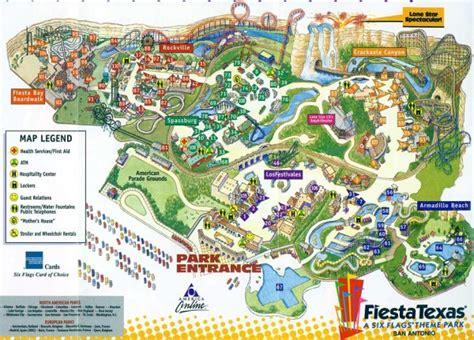 Theme Park Brochures Six Flags Fiesta Texas - Theme Park ...