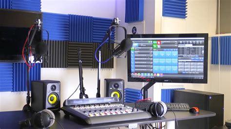 Setting Up A Professional Radio Studio