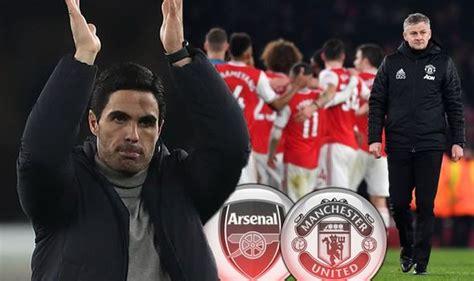 Arsenal on the up under Mikel Arteta as Ole Gunnar ...
