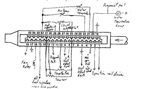 Bmw K1100r Wiring Diagram by Capteur Effet K75 K11