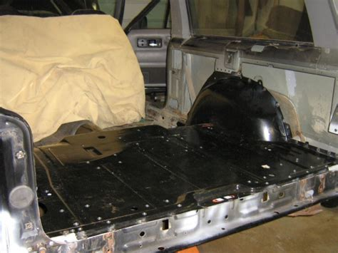 jeep floor pan replacement rear floor pan replacement page 2 jeep forum