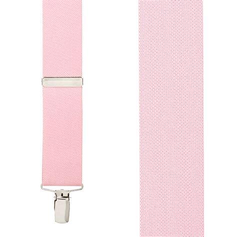 light pink suspenders light pink clip suspenders 1 5 inch wide suspenderstore