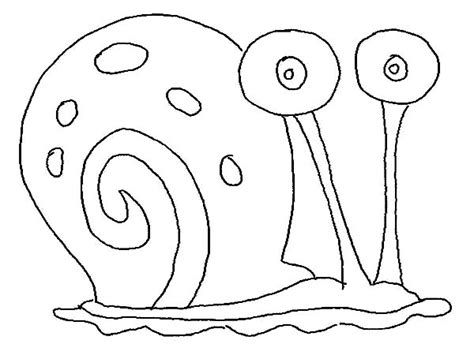 Gary The Snail Coloring Pages
