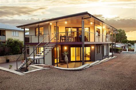 แบบบ้านโครงเหล็กสองชั้น โปร่งในโทนสีสวยเท่ | รีวิวคอนโด คอนโดใหม่ บ้านเดี่ยว ทาวน์โฮม ทาวน์เฮ้า ...