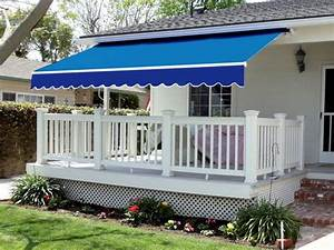 Exterior Retractable Awning With Sides With Retractable