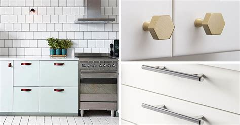 pics of kitchen cabinets with hardware 8 kitchen cabinet hardware ideas for your home contemporist