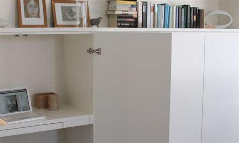 placard bureau ikea un bureau discret et beaucoup de rangement bidouilles ikea