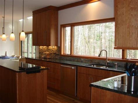 Window Wall  Modern  Kitchen  Cleveland By