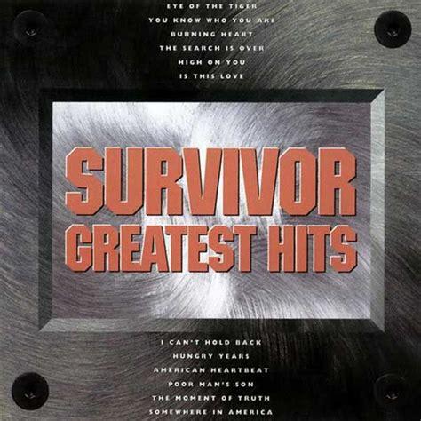 SURVIVOR: GREATEST HITS – 1993 (Scotti Brothers) – SURVIVOR