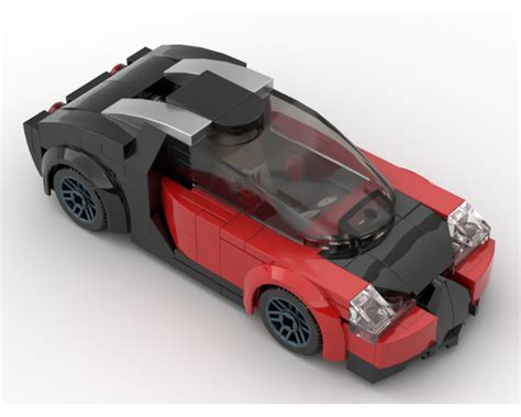 I have prepared my first giveaway competition. LEGO MOC-20566 Bugatti Veyron (Town > City 2018)   Rebrickable - Build with LEGO