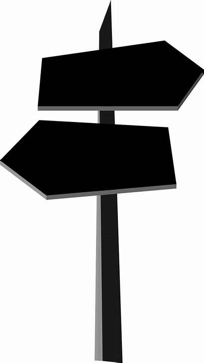 Signpost Choice Wegweiser Direction Clipart Richtung Pixabay