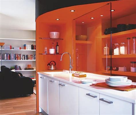 ideas ingeniosas  cocinas abiertas nuevo estilo